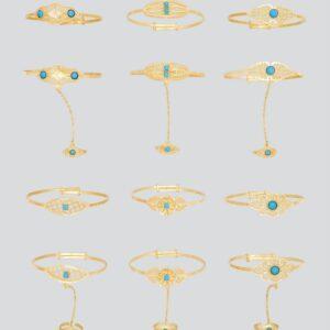 21K Baby Bracelets