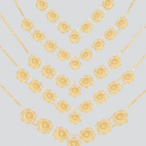 21K Coin Necklaces